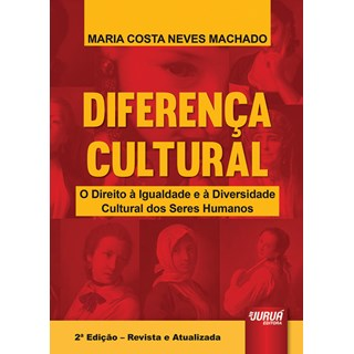 Livro - Diferença Cultural - Machado - Juruá