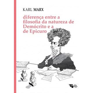 Livro - Diferença Entre a Filosofia da Natureza de Demócrito - Marx - Casa do Psicologo