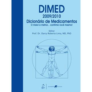 Livro - DIMED - Dicionário de Medicamentos - 2009-2010 - Lima