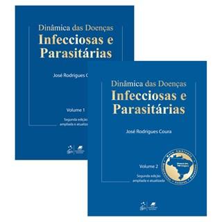 Livro - Dinâmica das Doenças Infecciosas e Parasitárias - 2 Volumes - Coura TF