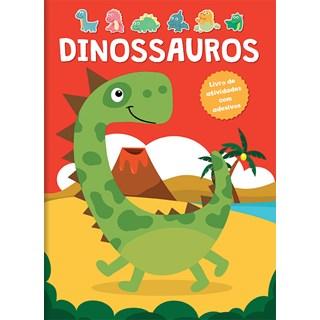 Livro - Dinossauros - Livro De Atividades Com Adesivos - Constant