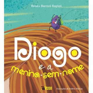 Livro Diogo e a Menina-Sem-Nome - Baglioli - Inverso