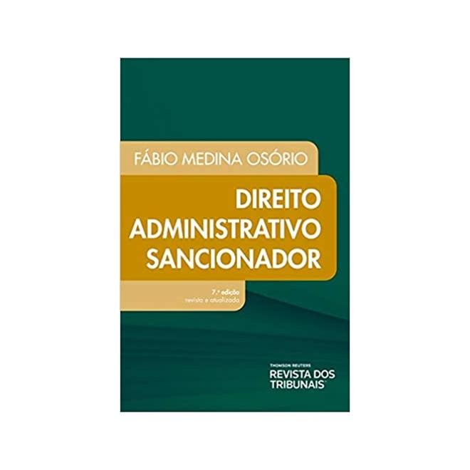Livro - Direito Administrativo Sancionador - Osório - Revista dos Tribunais