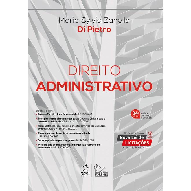 Livro - Direito Administrativo - Zanella Di Pietro -