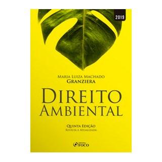 Livro - Direito Ambiental - 5ª edição - 2019 - Granziera 5º edição