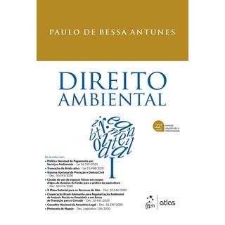 Livro - Direito Ambiental - ANTUNES 21º edição