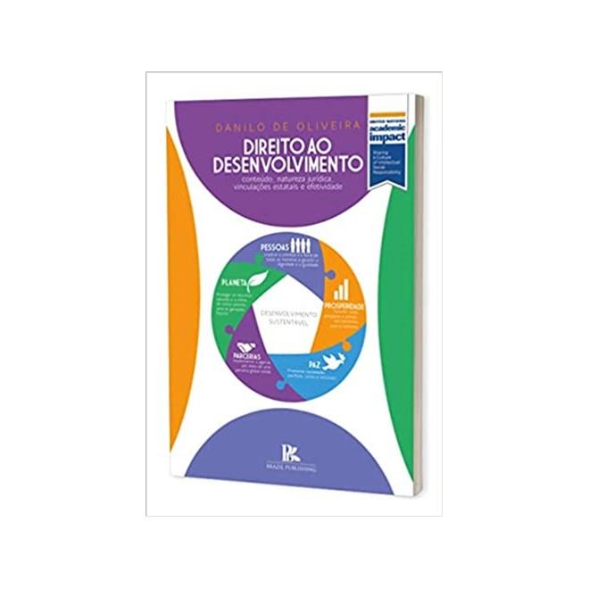 Livro - Direito ao Desenvolvimento - Oliveira - Brazil Publishing