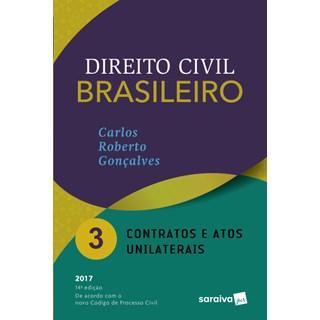 Livro - Direito Civil Brasileiro - Contratos e Atos Unilaterais - Gonçalves