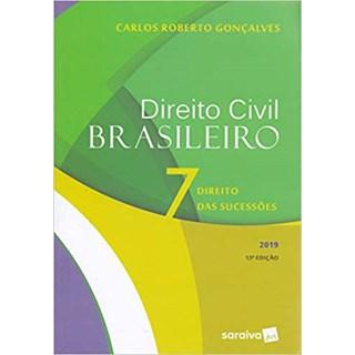 Livro - Direito Civil Brasileiro - Direito das Sucessões - Gonçalves