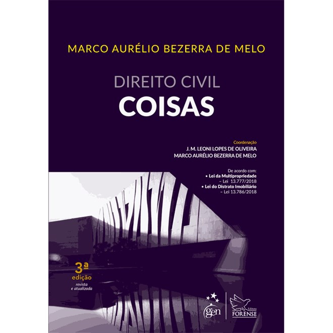 Livro - Direito Civil - Coisas - Melo
