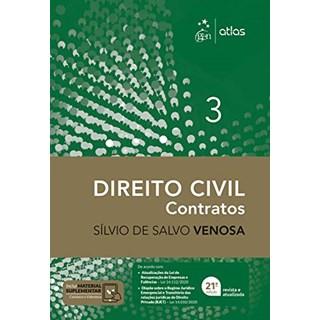 Livro Direito Civil: Contratos - Venosa - Atlas