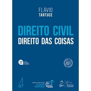 Livro Direito Civil: Direito das Coisas - Tartuce - Forense