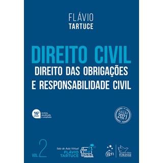 Livro - Direito Civil - Direito das Obrigações e Responsabilidade Civil - Vol. 2 - TARTUCE 15º ediçã