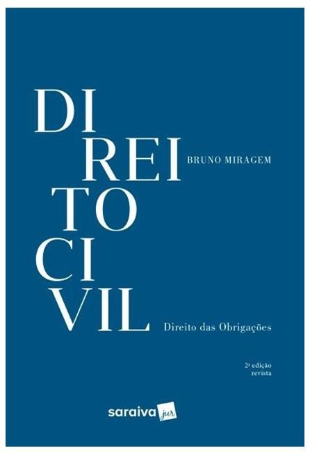 Livro - Direito Civil - Direito Das Obrigações - Miragem