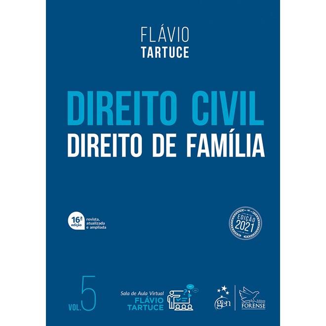 Livro - Direito Civil - Direito de Família - Vol. 5 - TARTUCE 15º edição