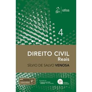 Livro Direito Civil: Direitos Reais - Vol. 4 - Venosa - Atlas
