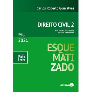 Livro Direito Civil Esquematizado - Gonçalves - Saraiva