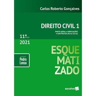 Livro - Direito Civil Esquematizado - Vol.1 - 10ª Edição 2020 - Gonçalves 10º edição