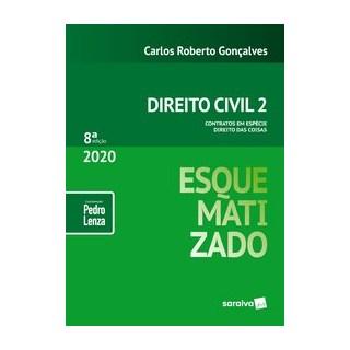 Livro - Direito Civil Esquematizado - Vol.2 - 8ª Edição 2020 - Gonçalves 8º edição