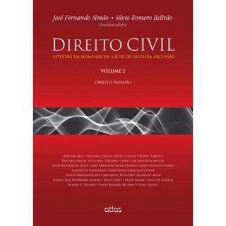 Livro - Direito Civil: Estudos em Homenagem a José de Oliveira Ascensão: Direito Privado - Vol. 2 - Simão