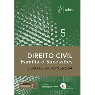 Livro Direito Civil: Família e Sucessões - Venosa - Atlas