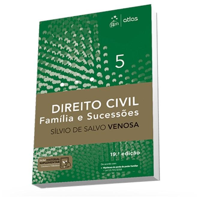 Livro - Direito Civil - Família e Sucessões - Vol. 5 - Venosa