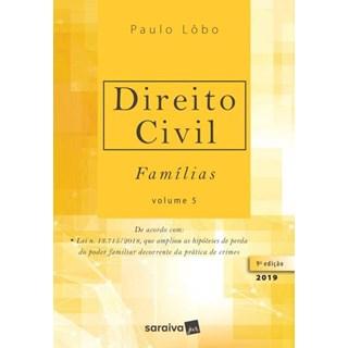 Livro - Direito Civil - Famílias - Vol 5 - Lôbo