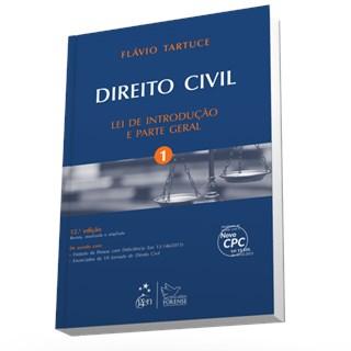 Livro - Direito Civil - Lei de Introdução e Parte Geral - Vol. 1 - Tartuce