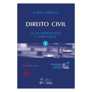 Livro - Direito Civil - Lei de Introdução e Parte Geral - Vol. 1 - TARTUCE 16º edição