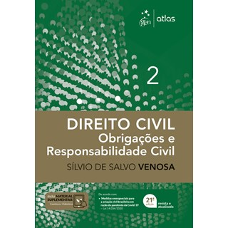Livro Direito Civil: Obrigações e Responsabilidade Civil - Venosa - Atlas