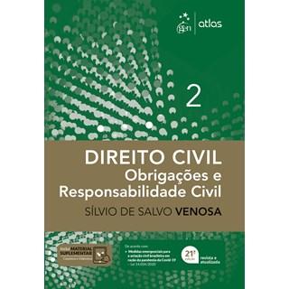 Livro - Direito Civil - Obrigações e Responsabilidade Civil - Vol. 2 - VENOSA 20º edição
