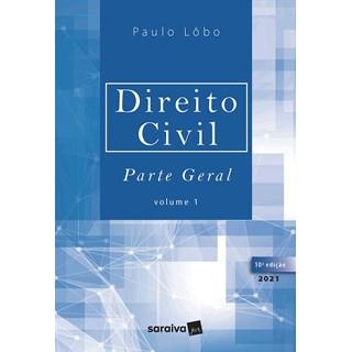 Livro Direito Civil Parte Geral: Vol.1 - Lobo - Saraiva