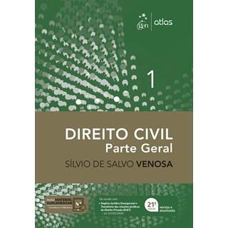 Livro - Direito Civil - Parte Geral - Vol. 1 - VENOSA 20º edição