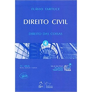 Livro - Direito Civil - Vol. 4 - Direito das Coisas - Tartuce