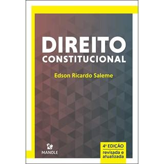 Livro - Direito Constitucional 2020 - Saleme - Manole