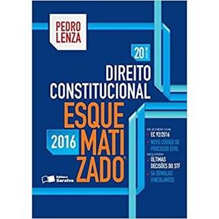 Livro - Direito Constitucional Esquematizado - 2016