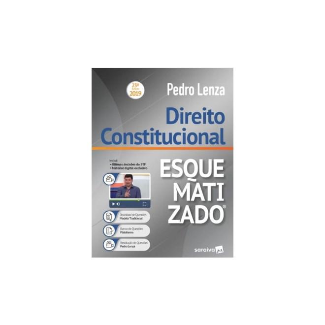 Livro - Direito Constitucional Esquematizado - Lenza