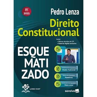 Livro Direito Constitucional Esquematizado - Lenza - Saraiva