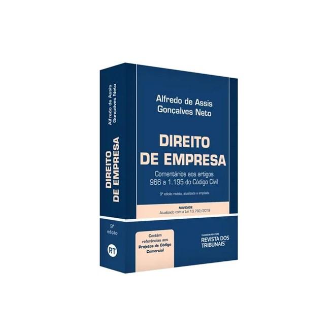 Livro - Direito De Empresa - Gonçalves Neto