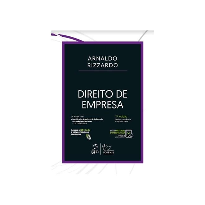 Livro - Direito de Empresa - Rizzardo