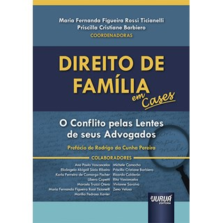 Livro - Direito de Família em Cases - Ticianelli - Juruá