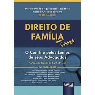 Livro Direito de Família em Cases - Ticianelli - Juruá