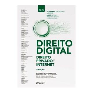 Livro - DIREITO DIGITAL: DIREITO PRIVADO E INTERNET - 3ª EDIÇÃO - 2020 - Souza 3º edição