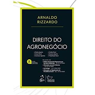 Livro Direito do Agronegócio - Rizzardo - Forense