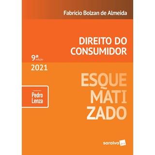 Livro Direito do Consumidor Esquematizado 2021 - Lenza - Saraiva