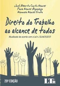 Livro Direito do trabalho ao alcance de todos Atualizado de acordo