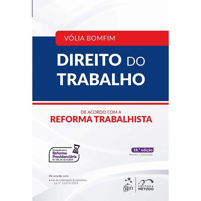 Livro - Direito do Trabalho - Cassar - 17º ed - Método