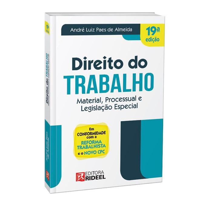Livro - Direito do Trabalho - Material Processual e Legislação Especial - Almeida