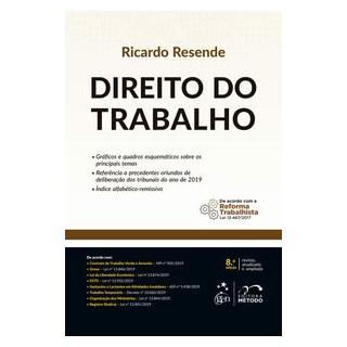 Livro - Direito do Trabalho - RESENDE 8º edição