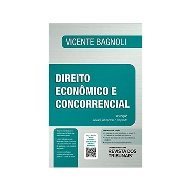 Livro - Direito Econômico e Concorrencial - Bagnoli - Revista dos Tribunais